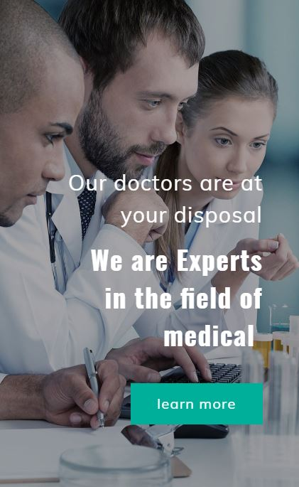 link to medical website example